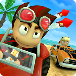 Beach Buggy Racing Latest v1.2.13 Mod Hack Apk [Unlimited Money]