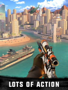 Sniper 3D Assassin Gun Shooter Mod 3.12.1 Apk [Unlimited Gold] 1
