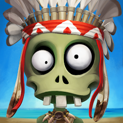 Zombie Castaways Latest 2.6 Mod Hack Apk [Unlimited Money]