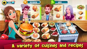 Cooking Games Kitchen Rising : Cooking Chef Master Mod 1.09 Apk [Unlimited Coins] 1