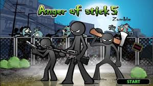 Anger of Stick 5: Zombie Mod 1.1.40 Apk [Unlimited Money] 1