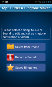MP3 Cutter and Ringtone Maker♫ Mod 2.1 Apk [Unlocked] 1