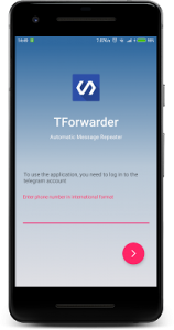 TForwarder – auto message forwarding for telegram Mod 1.2.3 Apk [Unlocked] 1