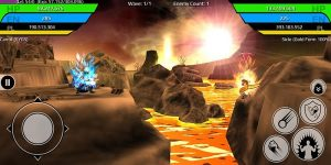 The Final Power Level Warrior (RPG) Mod 1.4.0f6 Apk (God Mod/High Attack) 1