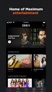 ZEE5 – Movies, TV Shows, LIVE TV & Originals Mod 23.11113055.0 Apk [Unlocked] 1