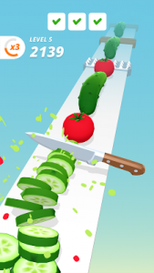 Perfect Slices Mod 1.3.0 Apk [Unlimited Coins] 2