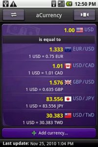 aCurrency Pro (exchange rate) 5.20 (Patched) Apk 2